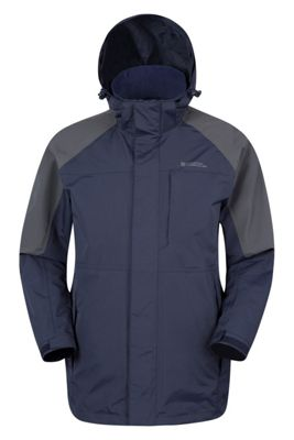 Mountain Warehouse Ridge Mens Long Waterproof Jacket ( Size: M )