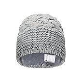 Mountain Warehouse Mia Knit Womens Beanie - Grey