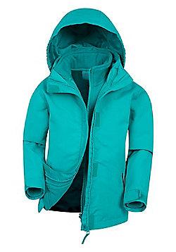 Mountain Warehouse Fell Kids 3 in 1 Jacket - Aqua