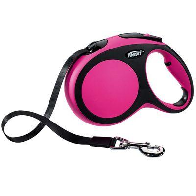 Flexi Comfort Tape Retractable Lead 5m Large - Pink