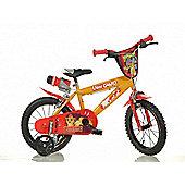 The Lion Guard 14inch Balance Bike Red - DINO Bikes