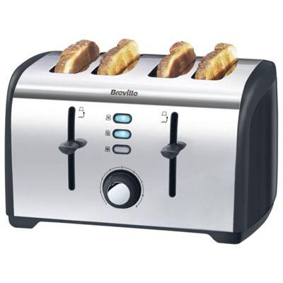 buy breville vtt377 4 slice toaster polished stainless. Black Bedroom Furniture Sets. Home Design Ideas