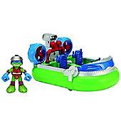 Teenage Mutant Ninja Turtles Hovercraft with Sea Rescue Leo