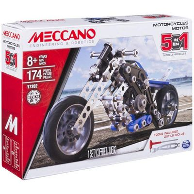 Meccano Motos 5 in 1 Model