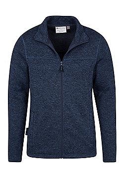 Mountain Warehouse Idris Mens Full Zip Fleece - Blue