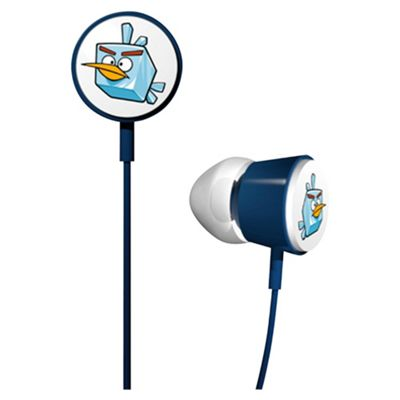 Gear 4 Blue Tweeters AngryBirds Space Headphones