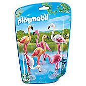 Playmobil 6651 City Life Zoo Flock of 6 Flamingos