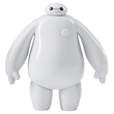 Disney Big Hero 6 White Baymax 10cm Figure & Mochi Cat
