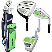 Young Gun Sgs Junior Eagle Right Hand Golf Set + Bags Age 12-14 - Green