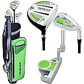Young Gun Sgs Junior Eagle Right Hand Golf Set + Bags Age 12-14 - Green