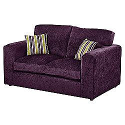 Taunton Compact 2 Seater Sofa, Plum