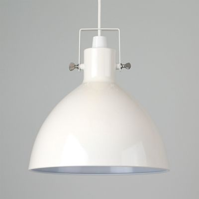 Buy Commodore Wingnut Industrial Style Domed Ceiling Pendant Light Shade From Our Pendant