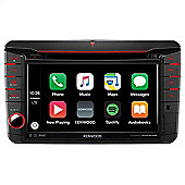"Kenwood 7"" In Car Stereo + GPS SatNav│DAB + Radio│USB│Bluetooth│Apple CarPlay│Android Auto│DNX 516DABS T5"