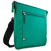 "Case Logic Intrata 14"" Messenger Green for Laptops Polyester Pepper"
