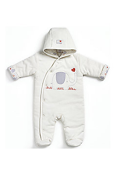 Natures Purest My First Friend - Padded Snowsuit - Cream