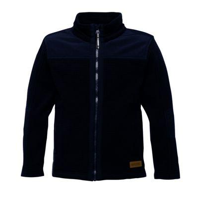 Regatta Kids Boys Faloo Fleece Jacket Black 7-8