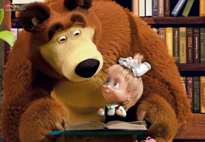Masha and the Bear - 104 piece Puzzle
