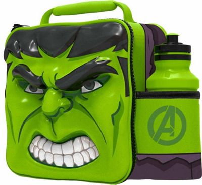 Avengers 'Hulk' 3d Lunch Bag with Bottle Box