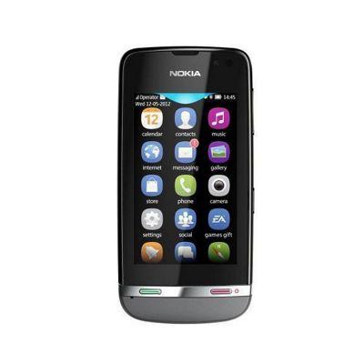 Nokia Asha 311 Mobile Phone (Grey)