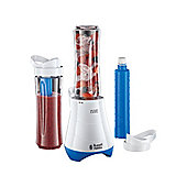 Russell Hobbs 21351 Mix and go cool 300 watt juicer in Blue and White