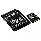 Kingston 128GB UHS-1 (U1) Micro SD Memory Card for Phone / Tablet / Camera