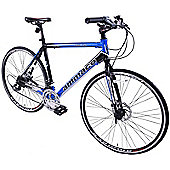 Ammaco Fbr750 Mens 700c Road Bike 55cm Frame Blue