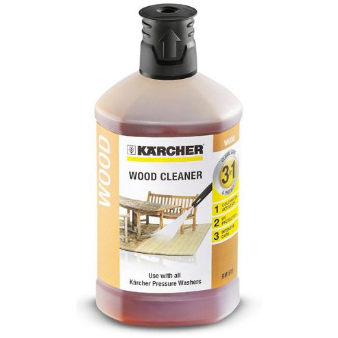 Karcher 3-in-1 1L Wood Cleaner Detergent