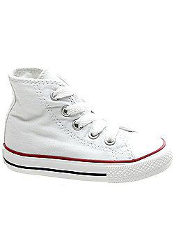 Converse All Star Hi Optical White Toddler Shoe 7J253 - White