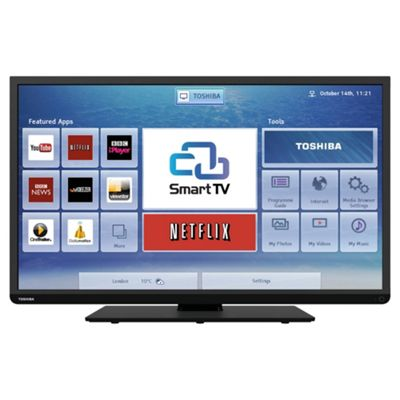 Toshiba 40L3451DB 40 Inch Smart WiFi Ready Full HD 1080p LED TV With Freeview HD