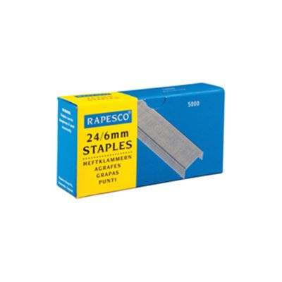 Rapesco Staples 24/6mm Ref S24602Z3 [Box 5000]