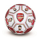 Arsenal FC Size 5 Photo & Signature Football