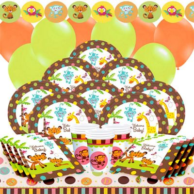 Baby Shower Party Pack - Deluxe Party for 16