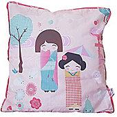 Oriental Panda Cushion Cover - 40 x 40 cm