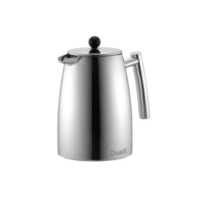 Dualit 85120 XS15 Dual Filter Cafetiere - Polished Stainless Steel