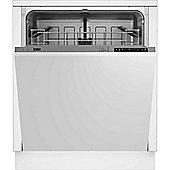 Beko DIN15210 A+ Energy Rating Integrated - full size Stainless steel