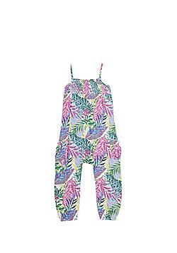 F&F Palm Print Jumpsuit - Multi
