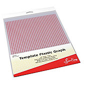 Sew Easy Graph Plastic Template (280mm x 215mm)