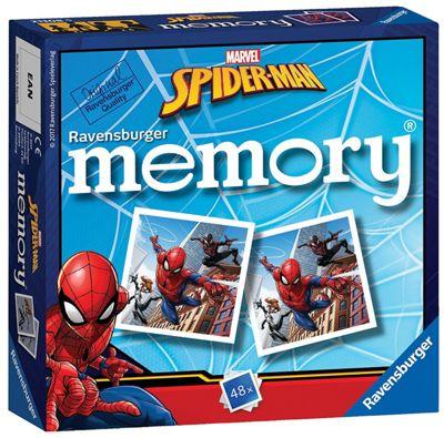 Spiderman 'force' Mini Memory Game Puzzle