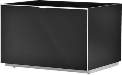 Optimum Project Iso Series Turntable Cabinet with Infrared Repeater - Gloss Black