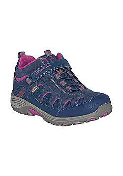 Merrell Kids Cham Mid AC Waterproof Boots - Blue