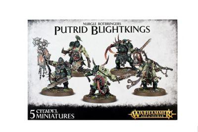 Warhammer Nurgle Rotbringers Putrid Blightkings Model Kit