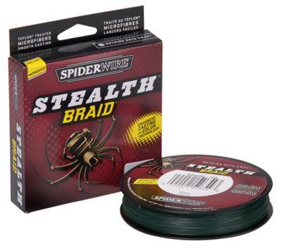 Spiderwire Stealth Moss Green Braid- 300 Yards