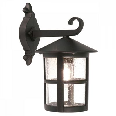 Black Grande Wall Down Lantern - 1 x 100W E27
