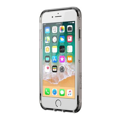 Griffin TA43830 Clear Case Cover│iPhone│8 Plus│7 Plus│6 Plus│Black│Smoke│Clear│