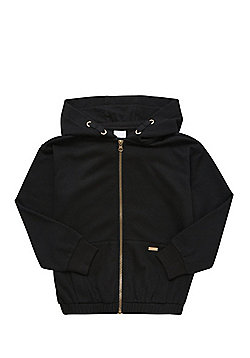 F&F Zip-Through Hoodie - Black