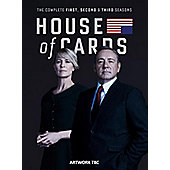 House Of Cards Seasons 1 to 3 DVD