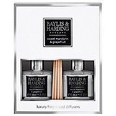 Baylis & Harding Mandarin & Grapefruit Twin Diffuser Set
