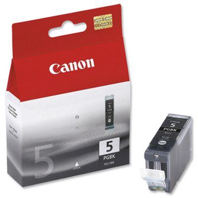 Canon PGI-5 Black Ink Cartridge (Twin Pack)