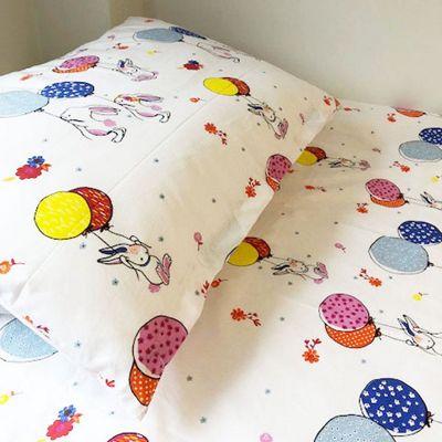 Cot Bed Duvet Cover Set 100% Cotton - Bunnies, Cot Bedding, Children's Cot Duvet Sets