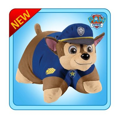 Pillow Pets 18-Inch Paw Patrol Chase Plush Toy (Blue)